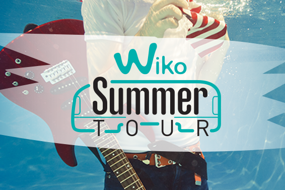 Al via il Wiko Summer Tour