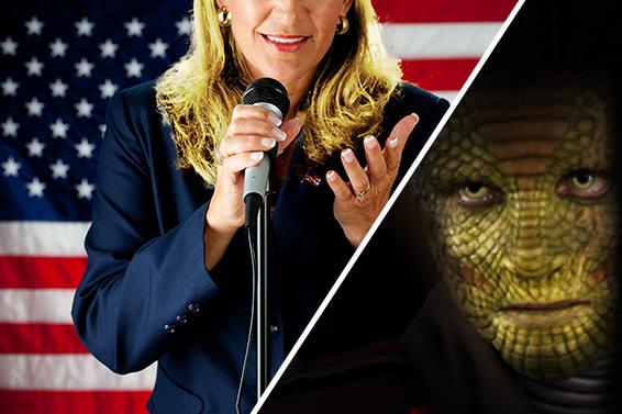 Hillary Clintan tenta di sbloccare UFEEL con l'impronta digitale: ciò che viene scoperto è raccapricciante