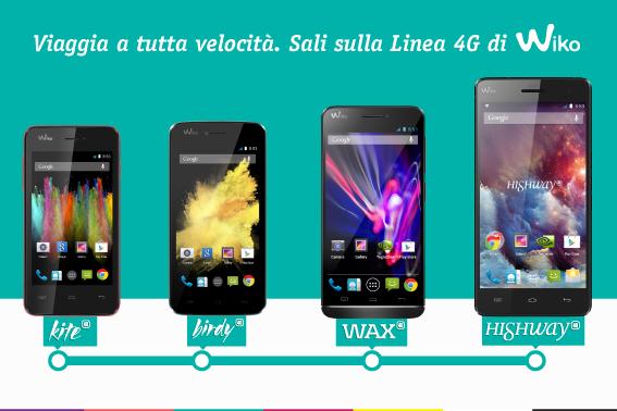 La gamma 4G di WIKO si allarga!