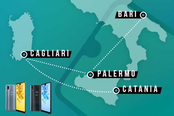 Wiko vi invita al roadshow della View2 Collection