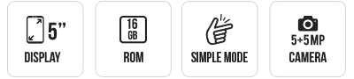 SUNNY4 main specifications