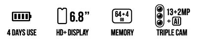 POWER U30 (64+4GB) main specifications
