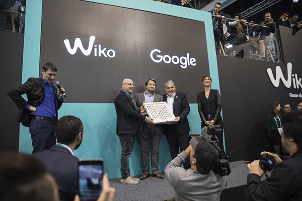 Wiko awarded with the Google Android Award