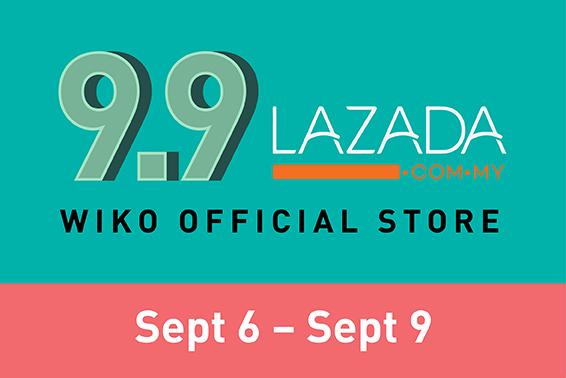 Wiko 9.9 Lazada Promo