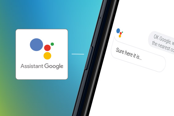 Google Assistant just a tap away