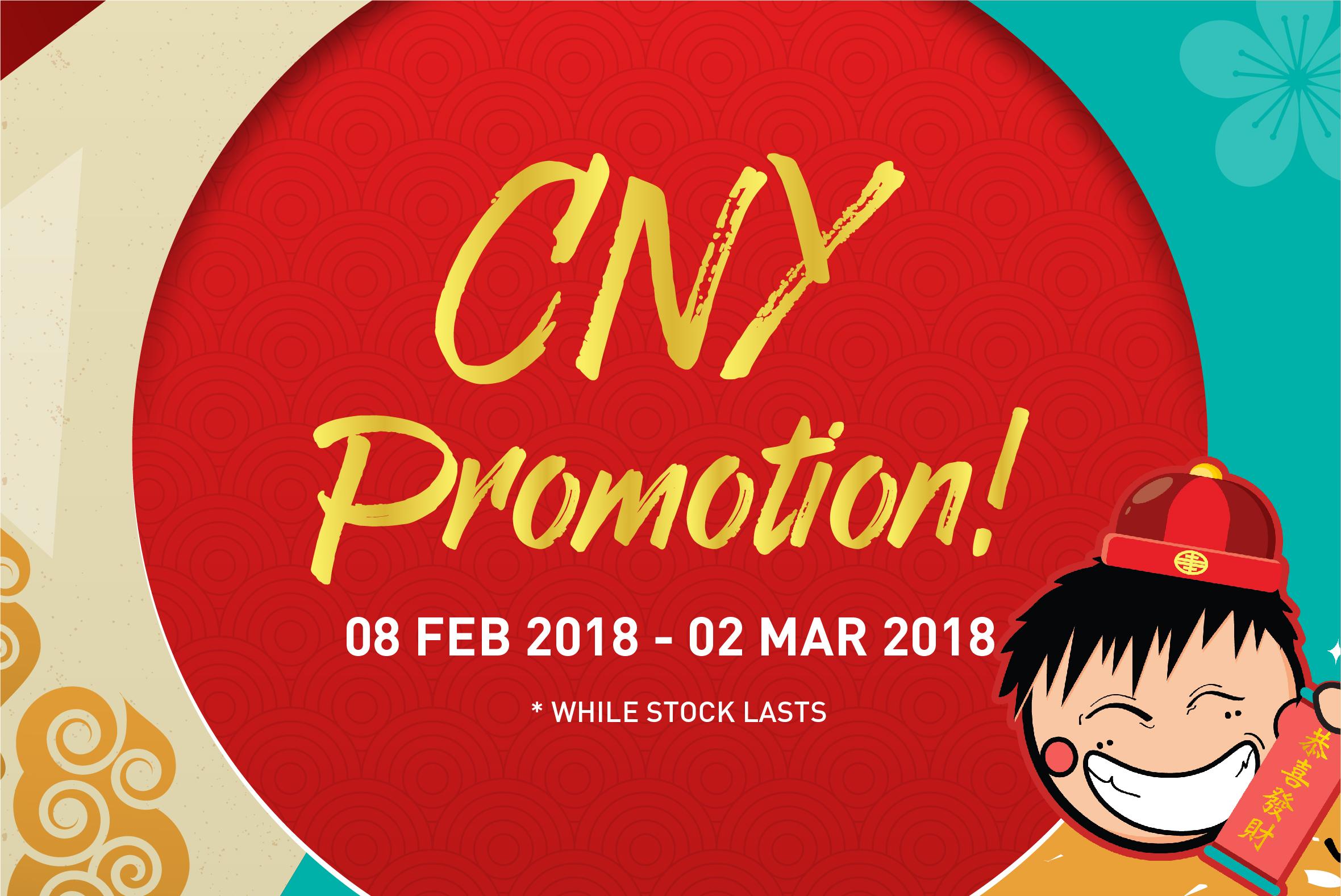 CNY Promotion 2018