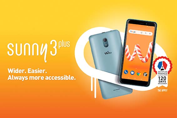 SUNNY3 PLUS - WIDER. EASIER. ALWAYS MORE ACCESSIBLE.