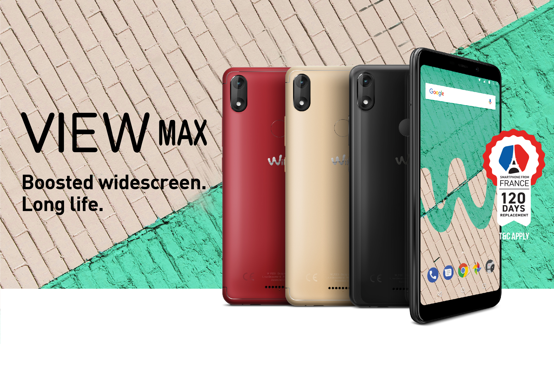 WIKO VIEW MAX - Boosted Widescreen. Long Life.