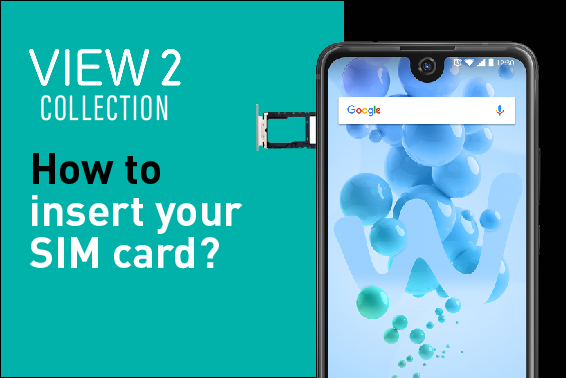 Video Tutorial: How to insert View2 collection SIM card