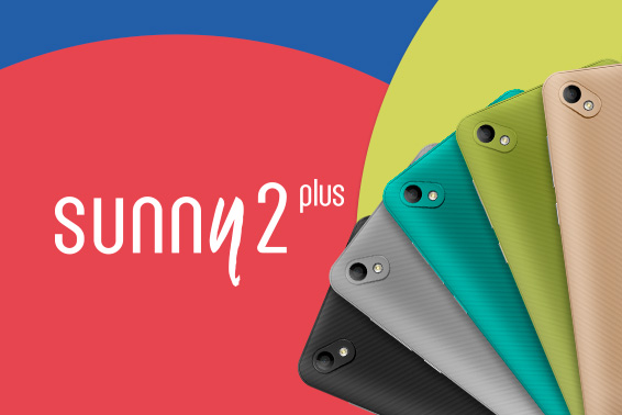 SUNNY 2 PLUS - CUTE AND COLOURFUL