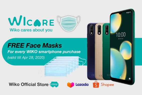 WICARE. WIKO CARES ABOUT YOU!