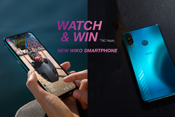 Wiko Watch & Win contest
