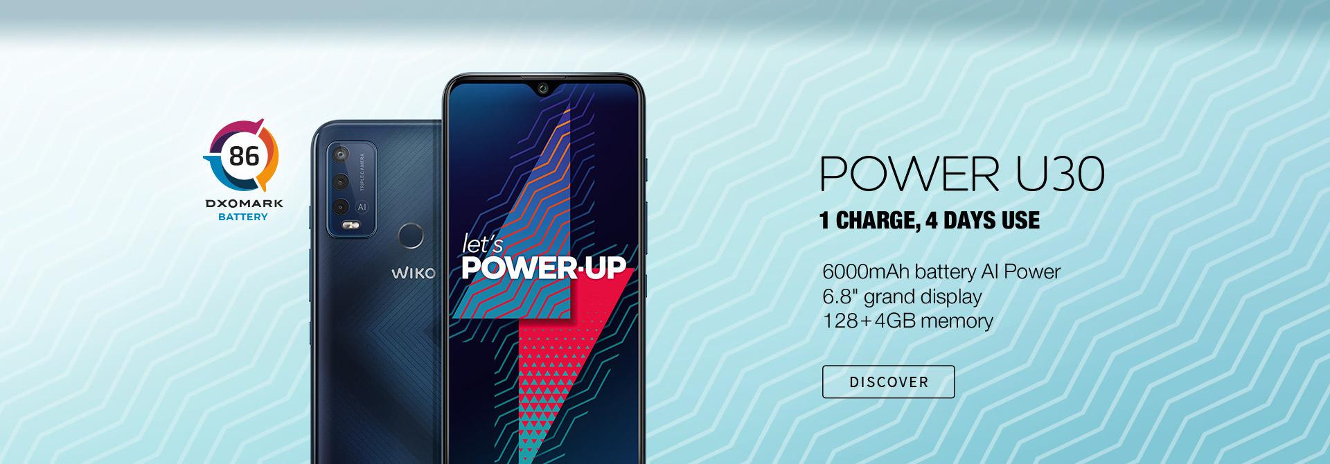 POWER U30 (64+4GB)