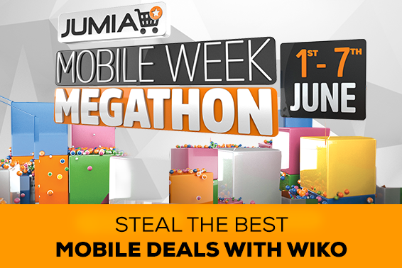 WIKO WILL PARTICIPATE IN JUMIA'S MOBILE WEEK MEGATHON, JUNE 1ST TO JUNE 7TH