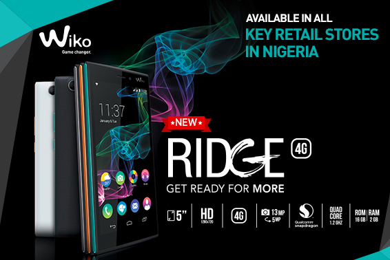 RIDGE 4G LAUNCH IN NIGERIA