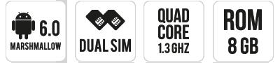 SUNNY main specifications
