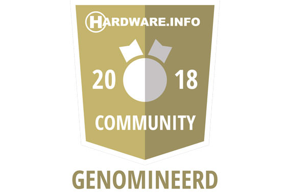 Wiko genomineerd voor de Hardware.info Community Awards 2018