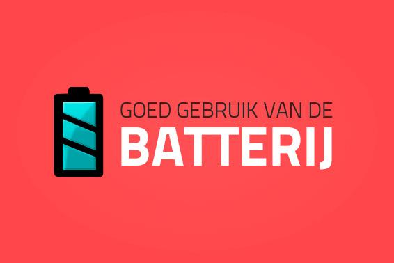 Goed gebruik van de batterij