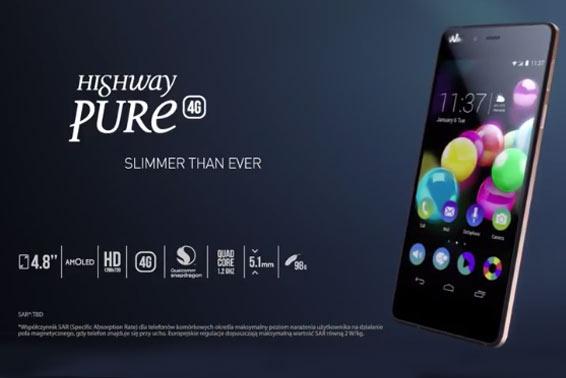 HIGHWAY PURE - Najcieńszy smartfon marki Wiko.