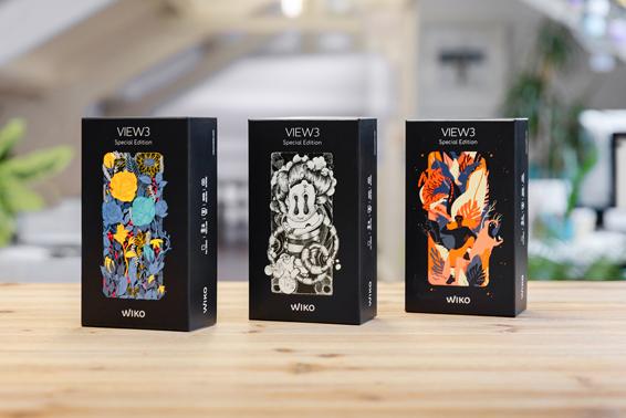 WIKO impulsa la creatividad de sus diseñadores y lanza tres ediciones especiales de su smartphone View3