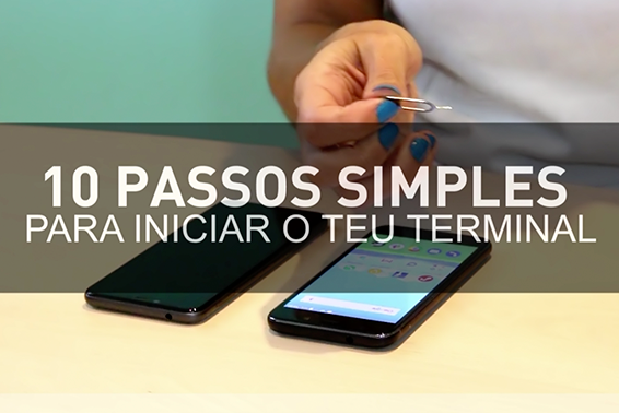 10 passos simples para iniciar o teu terminal