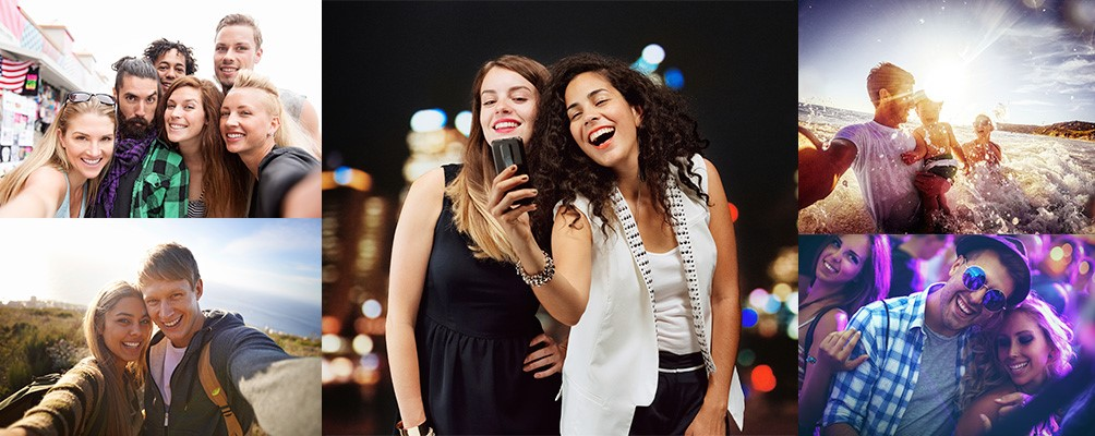 Selfie Flash banner wiko portugal