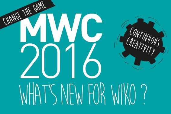 Um primeiro olhar aos novos produtos WIKO anunciados no MWC 2016!