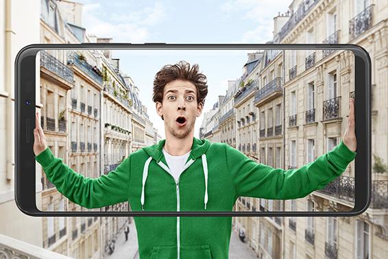 Gama VIEW: ¡Ecrã que atrai olhares!
