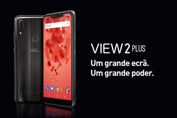 View2 Plus: Um grande ecrã. Un grande poder.