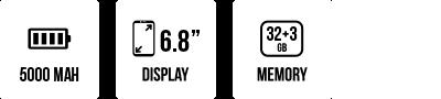 POWER U10 main specifications