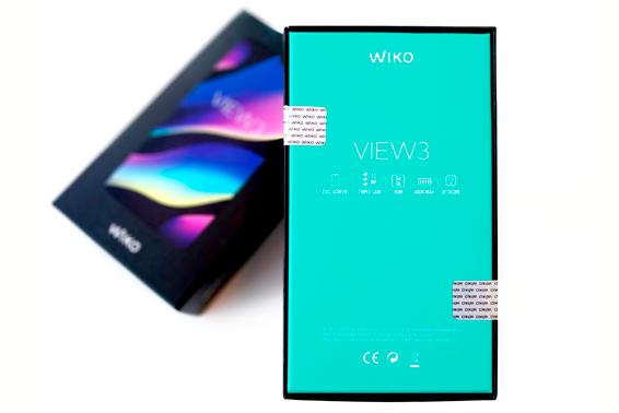 """Aviso! Símbolo de """"câmara tripla"""" na caixa do View3 e View3 Pro"""