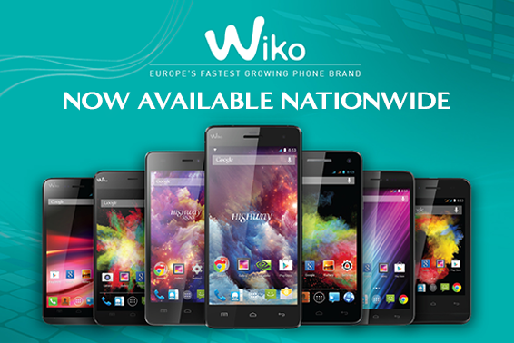 WIKO PHONES ARE NOW AVAILABLE NATIONWIDE