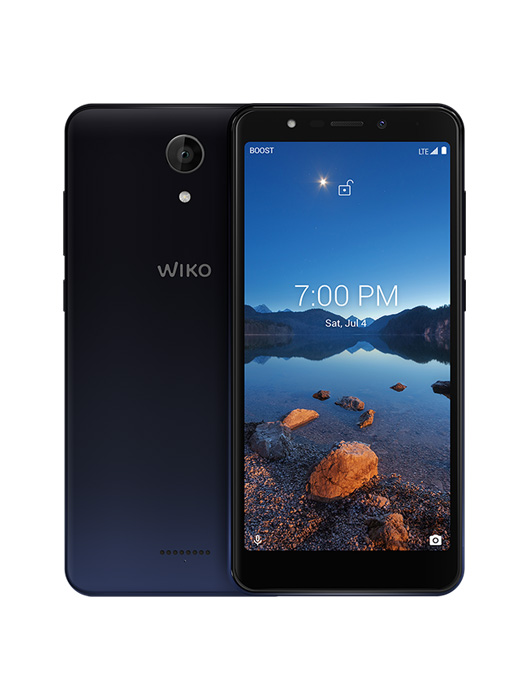 WIKO RIDE 2  displayed from front and back view
