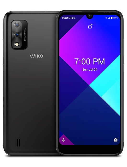WIKO RIDE 3 displayed from front and back view