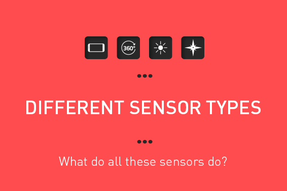 DIFFERENT SENSOR TYPES