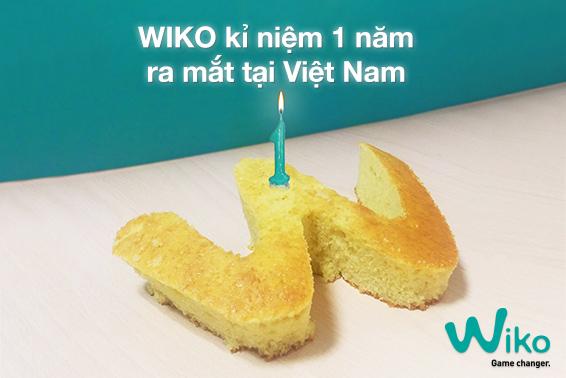Wiko kỉ niệm một năm ra mắt tại Việt Nam