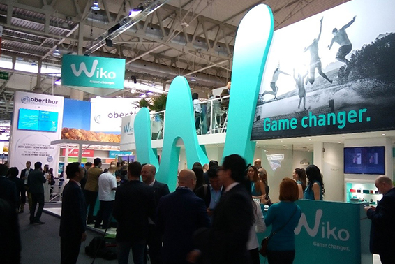 Wiko tại Mobile World Congress 2015