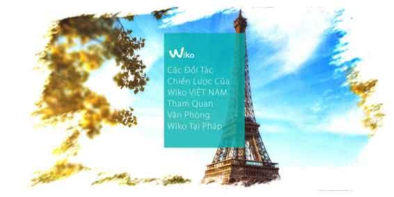 Các Đối tác chiến lược của Wiko Việt Nam tham quan văn phòng Wiko tại Pháp