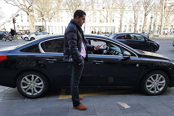 Interview de Humberto Rodrigues , chauffeur VTC