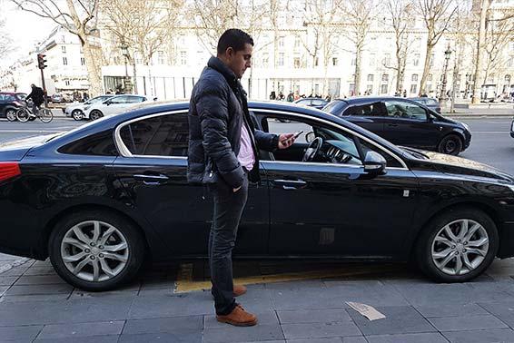 Interview de Humberto Rodrigues , chauffeur VTC