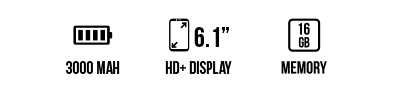 Y62 (16+1GB) main specifications