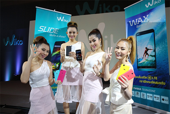 Wiko launching in Thailand