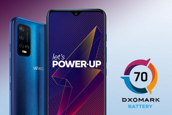 POWER U20: #3 in autonomy battery by DXOMARK