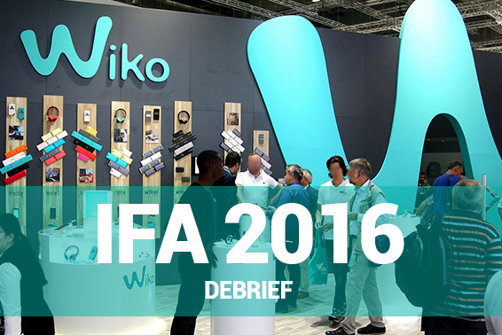 Wiko debuts new releases at IFA 2016