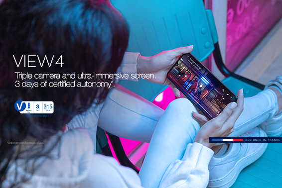 SmartViser certifies 3 days of autonomy for the Wiko View4!