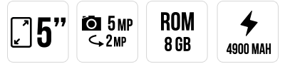 JERRY MAX main specifications