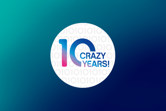 10 crazy years and still rocking!