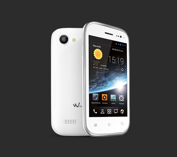 Wiko mobile cink slim for Minimalistisches smartphone