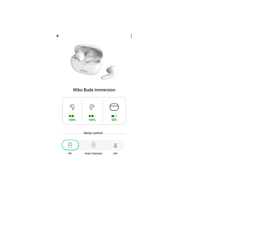 Wiko Connect app - screen 4